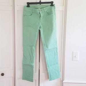 LC Lauren Conrad Mint Green Jeans